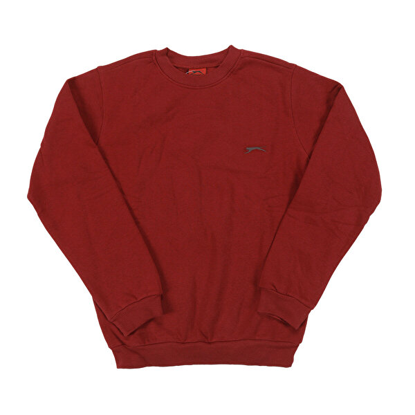 Slazenger INDIA Bordo Erkek Sweatshirt