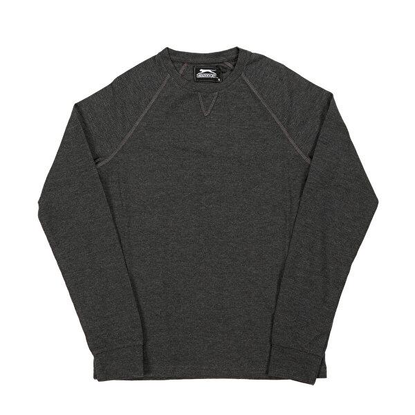Slazenger KENEDY Füme Erkek Sweatshirt