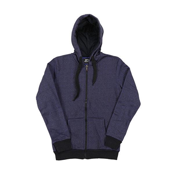 Slazenger ST28WE030-400 Lacivert Erkek Sweatshirt