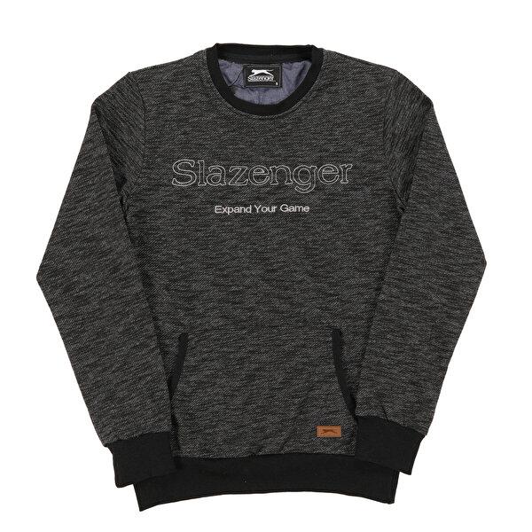 Slazenger ST28WE023-500 Siyah Erkek Sweatshirt