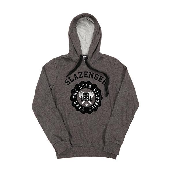 Slazenger ST28WE017-230 Füme Erkek Sweatshirt