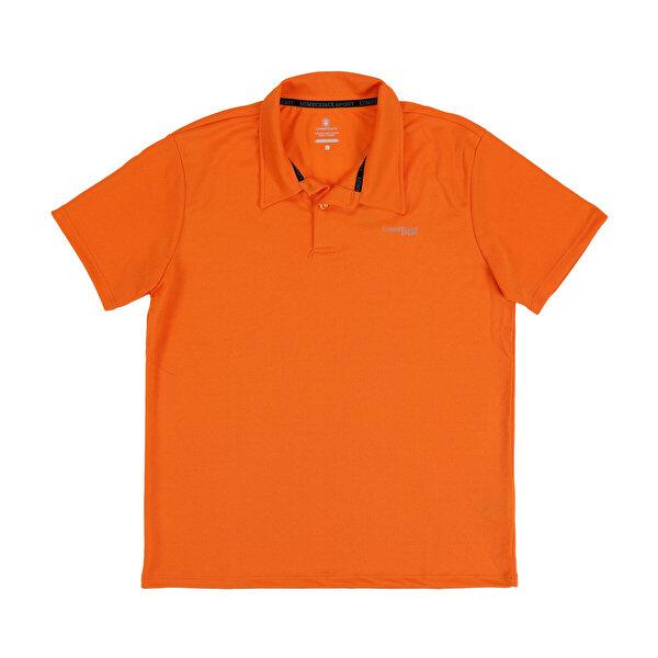 Lumberjack M-18182 SKY KK POLO TSHIR Turuncu Erkek Kısa Kol T-Shirt