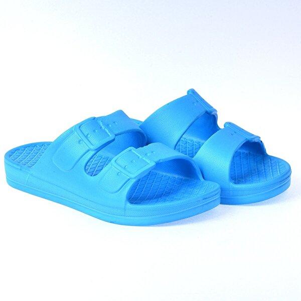 Kiko Kids Kiko Akn E251.000 Plaj Havuz Kız/Erkek Çocuk Terlik Mavi