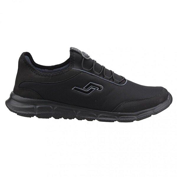Jump 15529-A Siyah Büyük Numara Fileli Günlük Erkek Spor Ayakkabı SİYAH