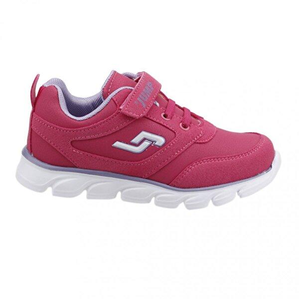 Jump 16778 Günlük Yürüyüş Cırtlı Kız Çocuk Spor Ayakkabı I-FUŞYA