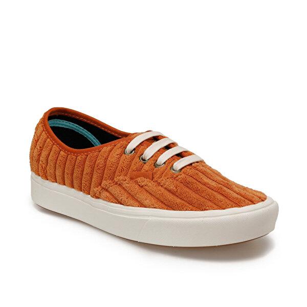 Vans UA COMFYCUSH AUTHENTIC Turuncu Kadın Kalın Tabanlı Sneaker