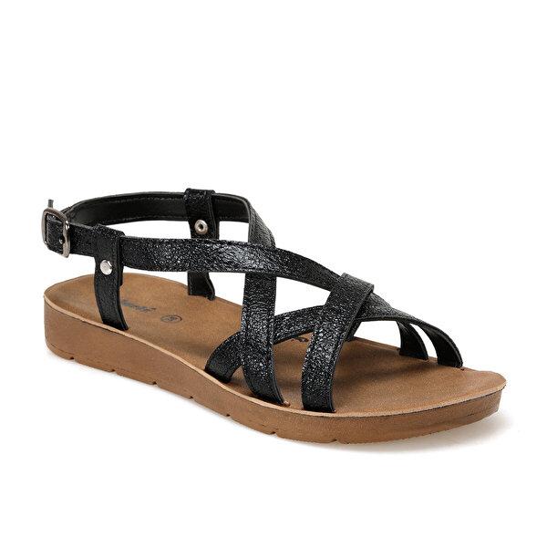 Polaris 91.313611.Z Siyah Kadın Sandalet