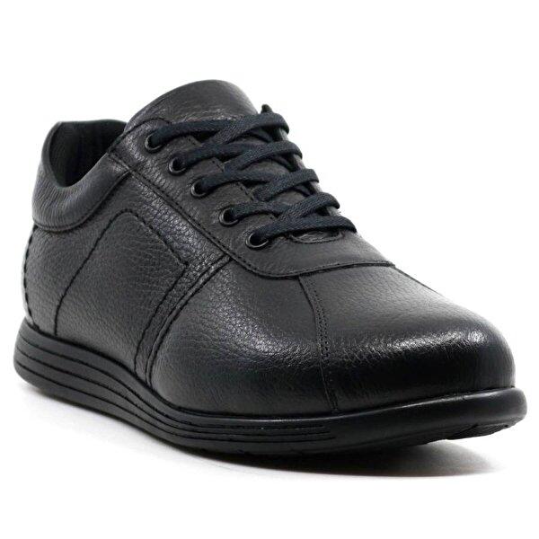 HAMMER JACK Hakiki Deri Erkek Bağcıklı Ayakkabı 422 890 Siyah