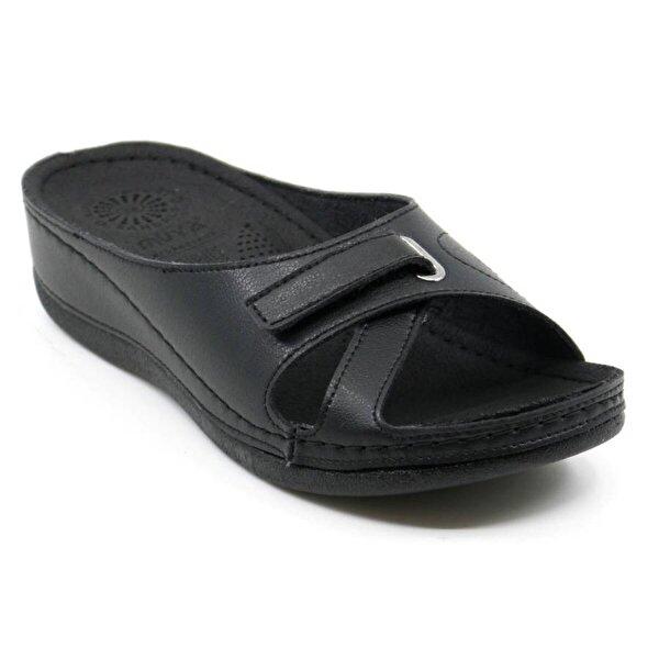 Muya 29161 Ortopedik Hafif Rahat Kadın Terlik Sandalet Siyah