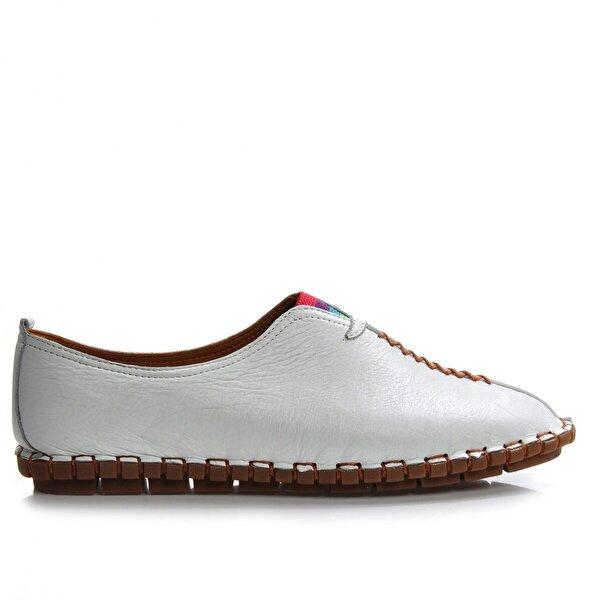 Vizon Ayakkabı Kadın  Beyaz Günlük Ayakkabı VZN-290Y