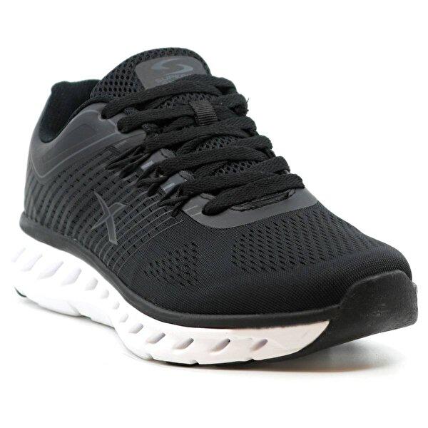 Kinetix Flux Hafif Erkek Spor Ayakkabı Sİyah Beyaz