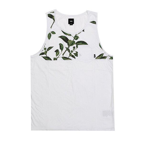 Vans HILBY Beyaz Erkek Kolsuz T-Shirt