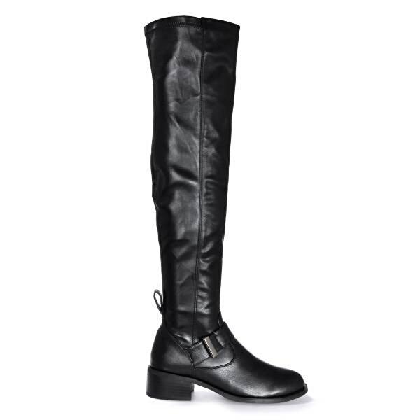 Vizon Ayakkabı Kadın  Siyah Çizme VZN19-152K