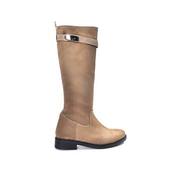 Vizon Ayakkabı Kadın  Vizon-Süet Çizme VZN19-087K