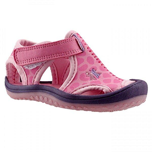 Ayakland Kids Pembe Aqua Kız Çocuk  Sandalet Panduf Ayakkabı