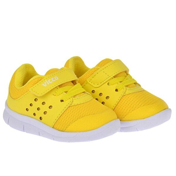 Vicco 346.20Y.200 Günlük Cırtlı Kız/Erkek Çocuk Spor Ayakkabı SARI