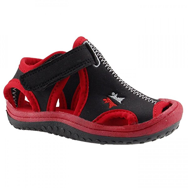 Ayakland Kids Siyah Aqua Erkek Çocuk  Sandalet Panduf Ayakkabı