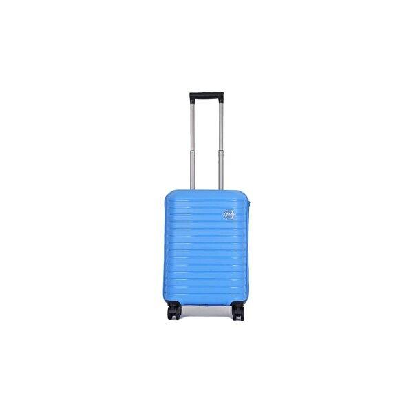 Ground Unisex  Kabartma Yüzey Kabin Boy Valiz 1GR010631S