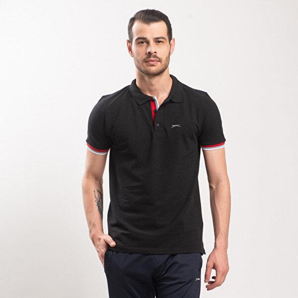 Slazenger PARTNER Siyah Erkek T-Shirt