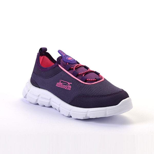 Slazenger FEVER Mor Kız Çocuk Sneaker Ayakkabı