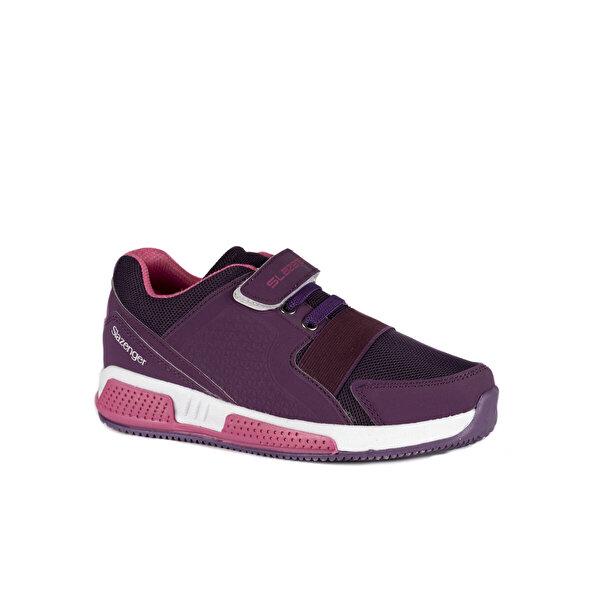 Slazenger ELA Mor Kız Çocuk Sneaker Ayakkabı