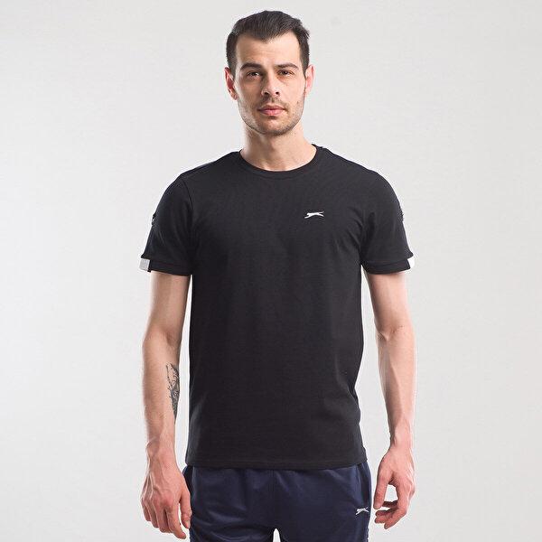 Slazenger PAUL Siyah Erkek Kısa Kol Tişört