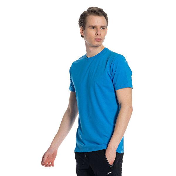 Slazenger COBY Lacivert Erkek Kısa Kol Tişört