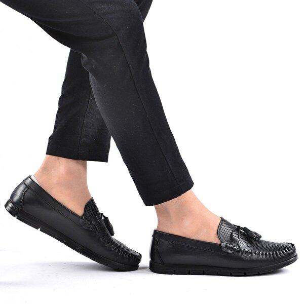 Ayakland Ant 403 Günlük Deri Erkek Ayakkabı SİYAH