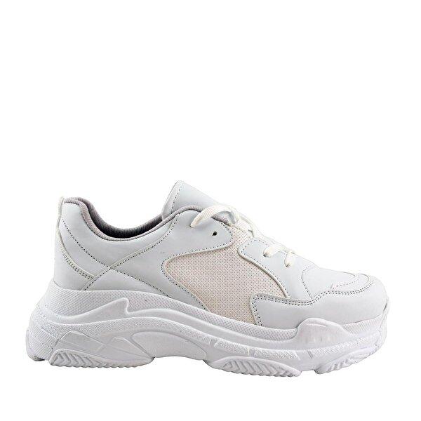 Mille VALERYA Günlük Giyim Kadın Ayakkabı Beyaz Cilt