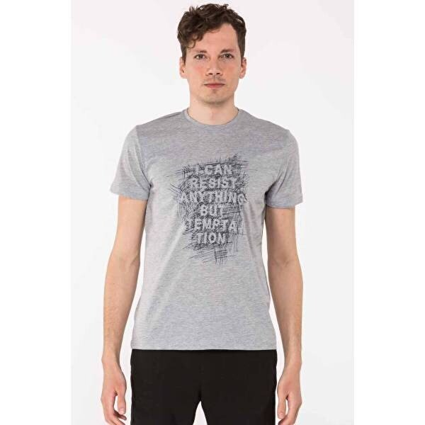 Mille TAFFY Erkek T-Shirt Gri
