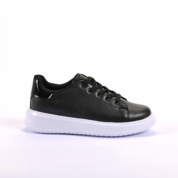 Slazenger FAVORITE Spor Çocuk Ayakkabı Siyah / Siyah