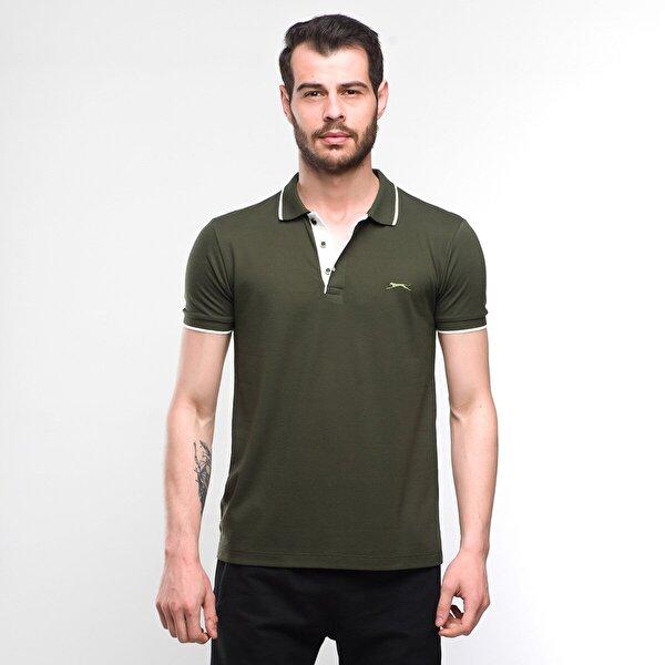 Slazenger SHARP Erkek T-Shirt Haki