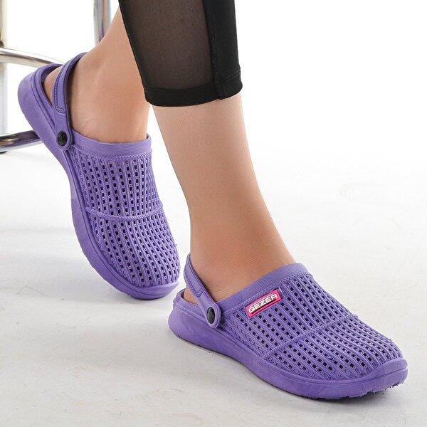 GEZER 10867  Hastane İş Ortopedik Kadın Sandalet Terlik EFLATUN