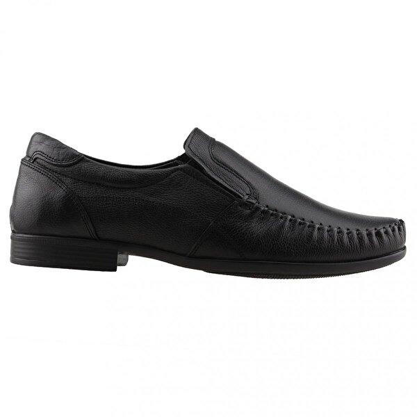 Ayakland Derimas 7149 Günlük %100 Deri Erkek Klasik Ayakkabı SİYAH