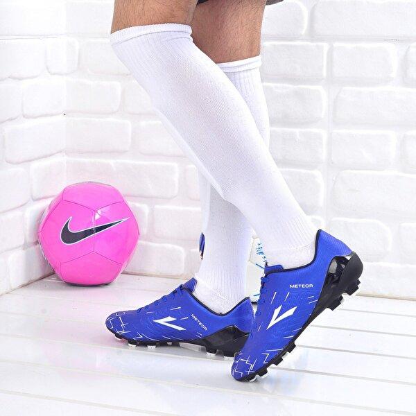 Lig Meteor Erkek Krampon Çim Saha Futbol Ayakkabısı Mavi
