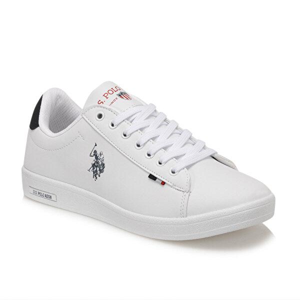 U.S. Polo Assn. FRANCO DHM Beyaz Kadın Sneaker Ayakkabı