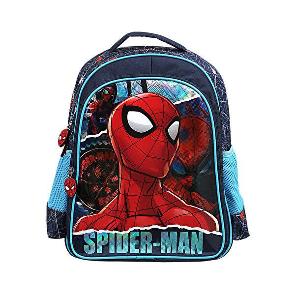 Spiderman İLKOKUL ÇANTASI Mavi Erkek Çocuk Okul Çantası