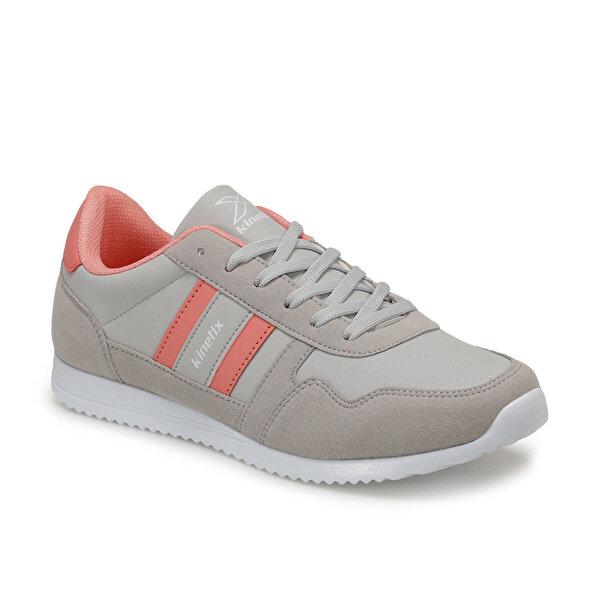 Kinetix CARTER PU W 9PR Gri Kadın Sneaker Ayakkabı