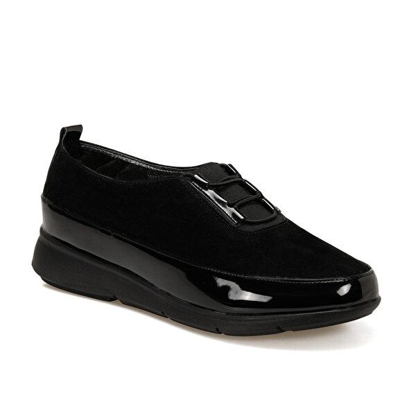 Polaris 161317.RZ Siyah Kadın Comfort Ayakkabı