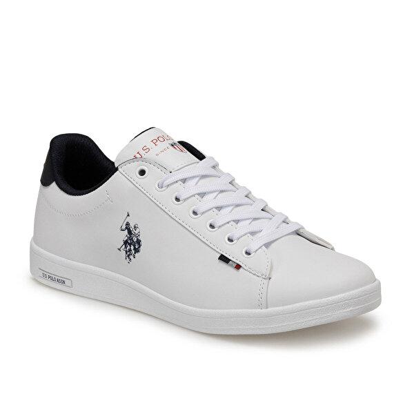 U.S. Polo Assn. FRANCO DHM Beyaz Erkek Sneaker Ayakkabı