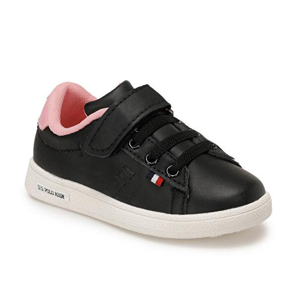 U.S. Polo Assn. FRANCO Siyah Unisex Çocuk Ayakkabı