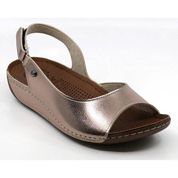 Muya 29170 Günlük Kadın Sandalet Platİn