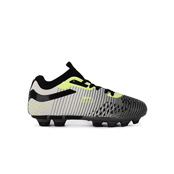 Slazenger MENTAL KR Futbol Çocuk Krampon Ayakkabı Siyah / Yeşil
