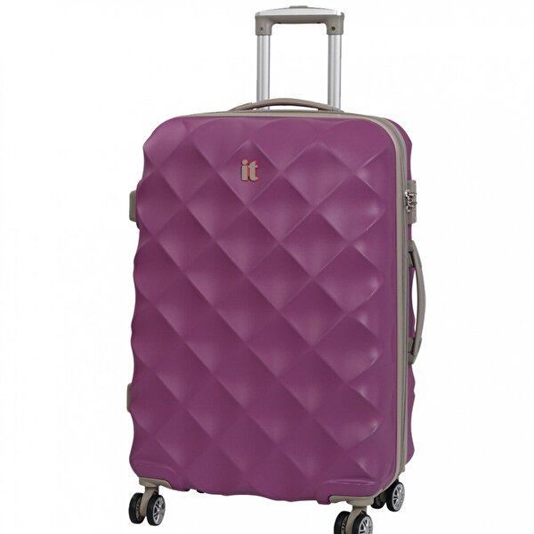 IT LUGGAGE 02126 Mor Büyük Boy Abs Valiz