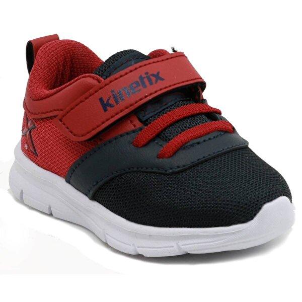 Kinetix Anka Hafif Rahat Cırtlı Çocuk Spor Ayakkabı Lacivert