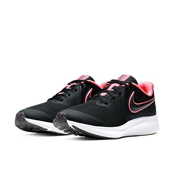 Nike STAR RUNNER 2 (GS) Siyah Kadın Koşu Ayakkabısı