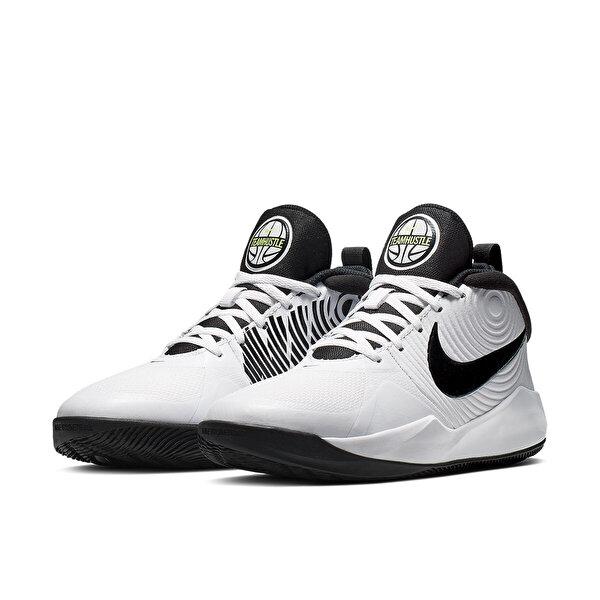 Nike TEAM HUSTLE D 9 (GS) Beyaz Erkek