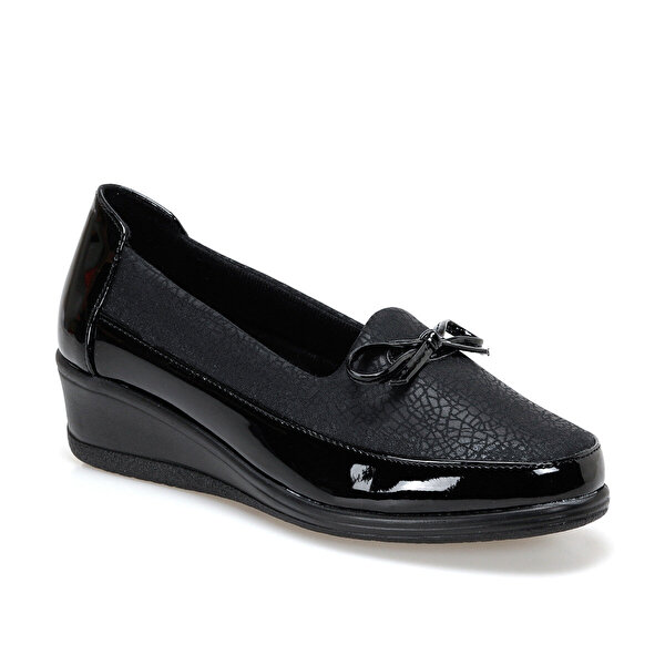 Polaris 161465.Z Siyah Kadın Comfort Ayakkabı
