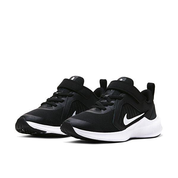 Nike DOWNSHIFTER 10 (PSV) Siyah Erkek Çocuk Koşu Ayakkabısı