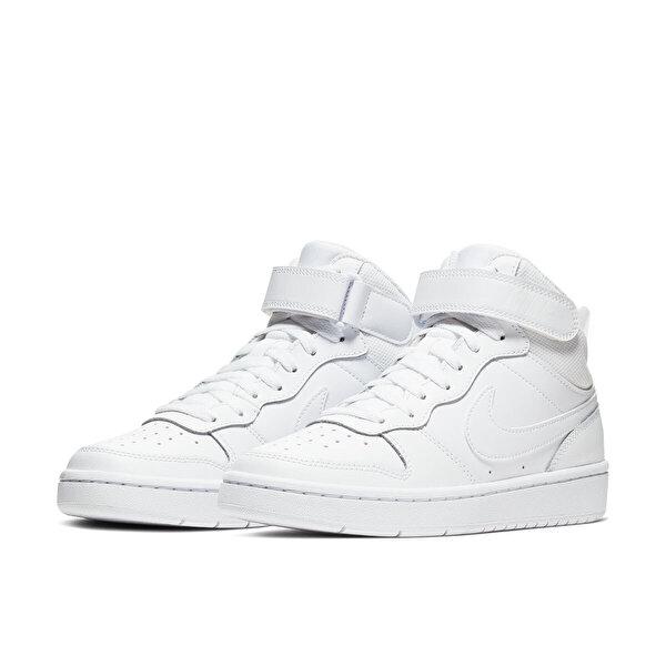 Nike COURT BOROUGH MID 2 (GS) Beyaz Erkek Sneaker Ayakkabı
